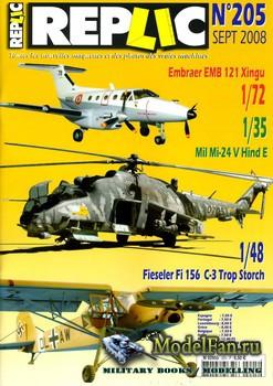 Replic №205 (2008) - Embraer EMB-121 Xingu, Mil Mi-24, Fi-156