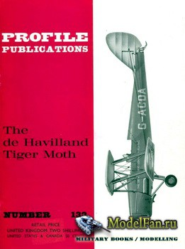 Profile Publications - Aircraft Profile №132 - The de Havilland Tiger Moth