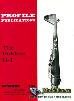 Profile Publications - Aircraft Profile №134 - The Fokker G-1