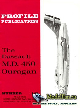 Profile Publications - Aircraft Profile №143 - The Dassault M.D. 450 Ouraga ...