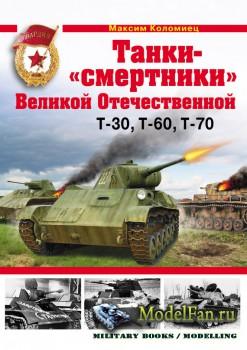 Танки-«смертники» Великой Отечественной. Т-30, Т-60, Т-70 (Максим Коломиец)