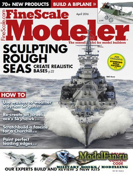 FineScale Modeler Vol.34 №04 (April) 2016