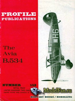 Profile Publications - Aircraft Profile №152 - Avia B534