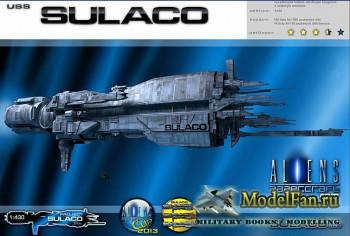 PaperCrAft - USS Sulaco (космический корабль из ф-ма «Чужие»)