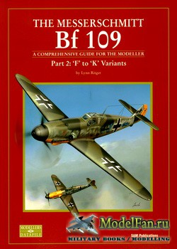 Modellers Datafile 10 (SAM Publications) - The Messerschmitt Bf-109. Part 2 ...