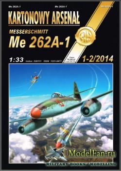 Halinski - Kartonowy Arsenal 1-2/2014 - Messerschmitt Me-262A-1