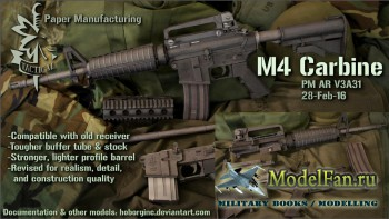 Paper Manufacturing - M4 Carbine (AR V3A31), AR Accessories