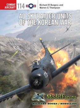 Osprey - Combat Aircraft 114 - AD Skyraider Units of the Korean War