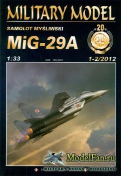 Halinski  - Military Model  1-2/2012 - MiG-29A