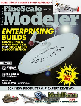FineScale Modeler Vol.34 №05 (May) 2016