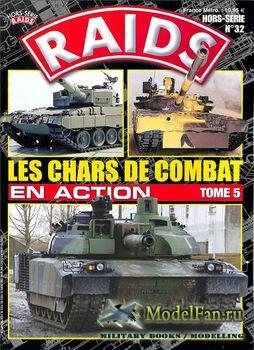 Raids Hors-Serie №32 - Les Chars de Combat en Action (Tome 5)