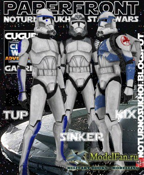 Clone Trooper Kix (Star Wars)
