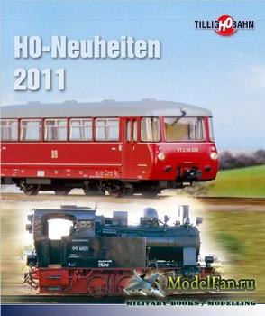 Tillig-TT-Bahn 2011 H0-Neuheiten