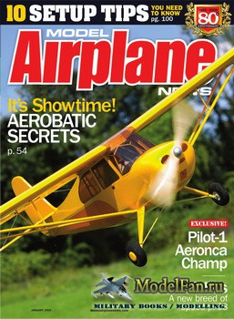 Model Airplane News (January 2009)