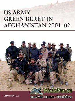 Osprey - Warrior 179 - US Army Green Beret in Afghanistan 2001-2002