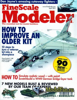FineScale Modeler Vol.29 №4 (April) 2011