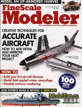 FineScale Modeler Vol.29 №6 (July) 2011
