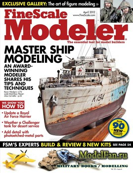 FineScale Modeler Vol.30 №4 (April) 2012