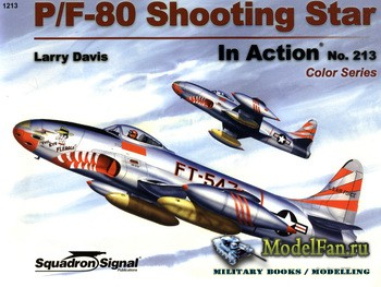 Squadron Signal (Aircraft In Action) 1213 - P/F-80 Shooting Star