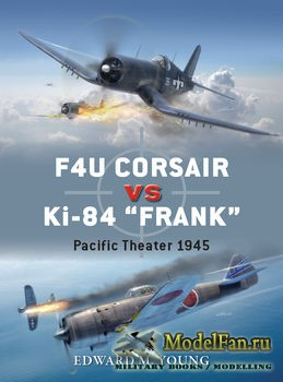Osprey - Duel 73 - F4U Corsair vs Ki-84