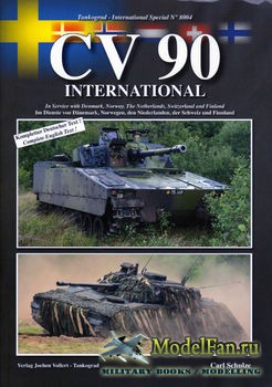 Tankograd 8004 - CV 90 International