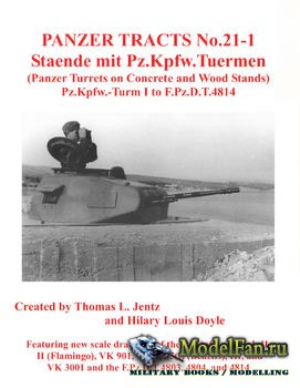Panzer Tracts No.21-1 - Staende mit Pz.Kpfw.Tuermen