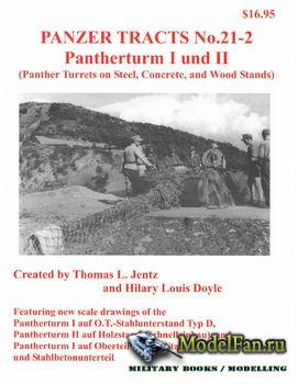 Panzer Tracts No.21-2 - Pantherturm I und II