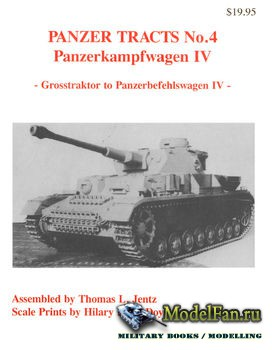 Panzer Tracts No.4 - Panzerkampfwagen IV