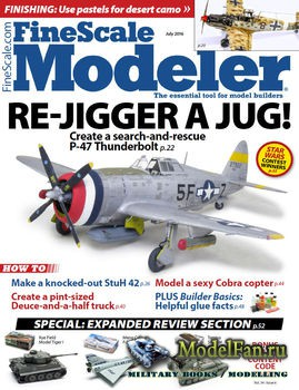 FineScale Modeler Vol.34 №6 (June) 2016