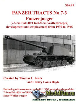 Panzer Tracts No.7-3 - Panzerjaeger