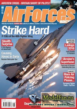 AirForces Monthly (June 2016) №339