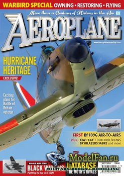 Aeroplane Monthly Magazine (July 2016)