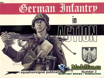 Squadron Signal (Combat Troops) 3002 - German Infantry in Action