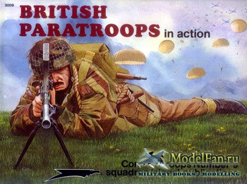Squadron Signal (Combat Troops) 3009 - British Paratroopers in Action