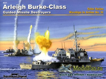 Squadron Signal (Warships In Action) 4031 - Arleight Burke-Class