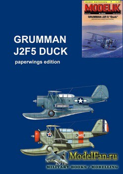 Modelik 26/2005 - Grumman J2F-5 ''Duck'' (Перекрас)