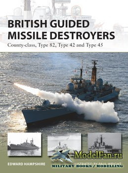 Osprey - New Vanguard 234 - British Guided Missile Destroyers