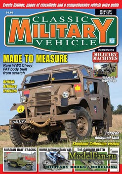 Classic Military Vehicle №182 (July 2016)
