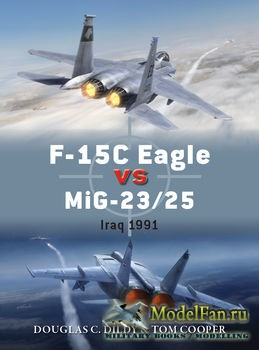 Osprey - Duel 72 - F-15C Eagle versus MiG-23/25: Iraq 1991