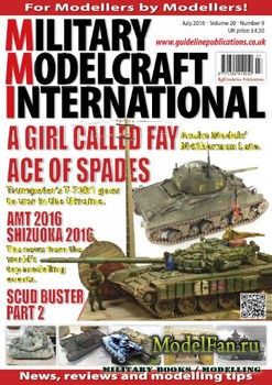Military Modelcraft International (July 2016) Vol.20 №9