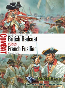 Osprey - Combat 17 - British Redcoat vs French Fusilier