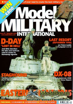 Model Military International Issue 29 (September 2008)