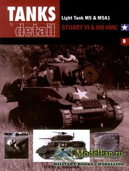 Tanks in detail №8 - Light Tank M5 & M5A1, Stuart VI & M8 HMC