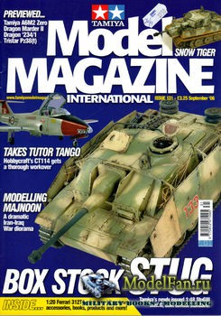 Tamiya Model Magazine International №131 (September 2006)