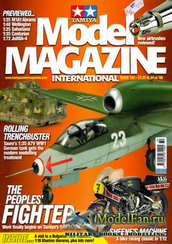 Tamiya Model Magazine International №132 (October 2006)