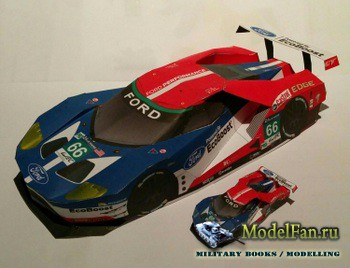 DrawPrintCutGlue - Ford GT Le Mans 2016