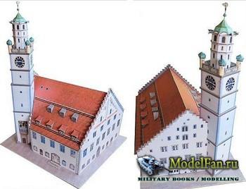 Ausschneide Bogen - Der Blaserturm in Ravensburg