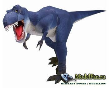 Canon Papercraft - Тираннозавр