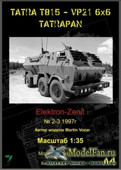 Elektron-Zenit 2-3/1997 - Tatrapan 815 VP 21