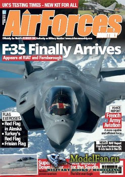 AirForces Monthly (August 2016) №341